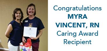 myra caring award